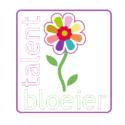 Logo-talentbloeier met raam