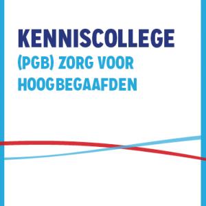 Kenniscollege Zorg Voor Hoogbegaafde Kinderen (PGB)