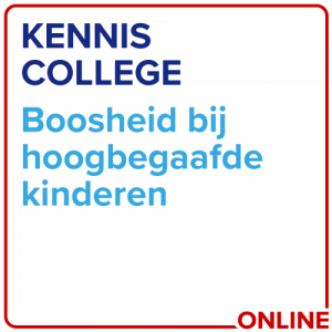 Kenniscollege Boosheid Bij Hoogbegaafde Kinderen