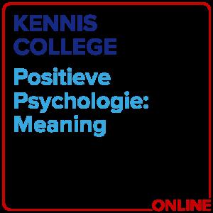 Kenniscollege Positieve Psychologie: Meaning