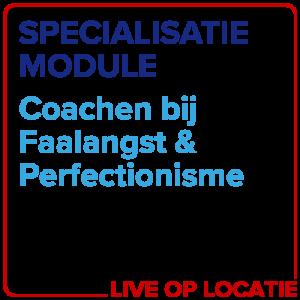 Specialisatiemodule Coachen Bij Faalangst & Perfectionisme