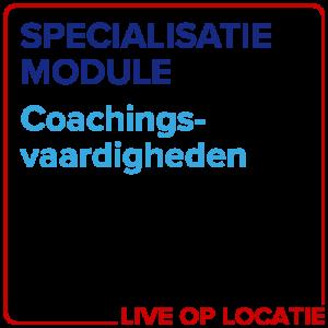 Specialisatiemodule Coachingsvaardigheden