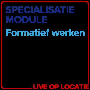 Specialisatiemodule Formatief Werken
