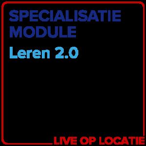 Specialisatiemodule Leren 2.0