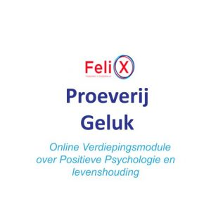 Online Module: 'Een Proeverij Van Geluk' – Levenshouding En Positieve Psychologie (door Heleen Iordens)