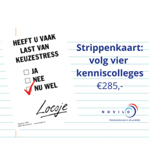 Strippenkaart: 4 Kenniscolleges