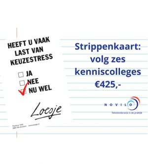Strippenkaart: 6 Kenniscolleges