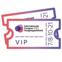 Internationaal Congres Hoogbegaafdheid Tickets VIP